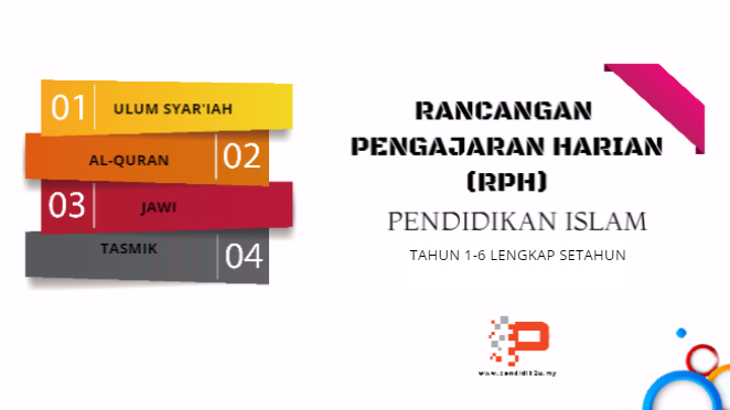 RPH Pendidikan Islam Lengkap Setahun