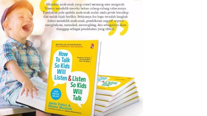 Buku How To Talk So Kids Will Listen & Listen So Kids Will Talk Edisi Bahasa Melayu