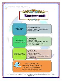 Buku Pengurusan Peribadi Guru 2015