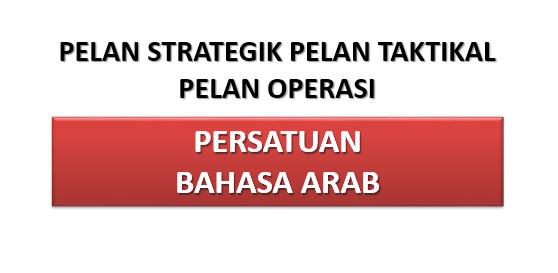 Pelan Strategik Persatuan Bahasa Arab