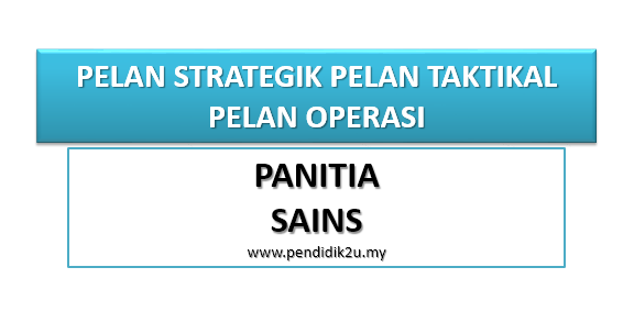 Pelan Strategik Panitia Sains
