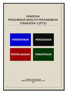 Dokumen Panduan Pentadbiran, Jadual Kerja dan Jadual Waktu (PT3)