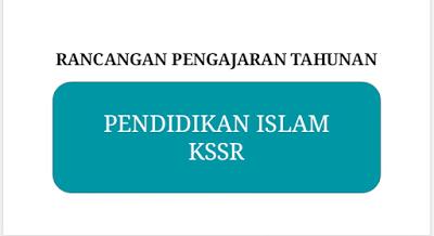 RANCANGAN PENGAJARAN TAHUNAN PENDIDIKAN ISLAM KSSR & KBSR