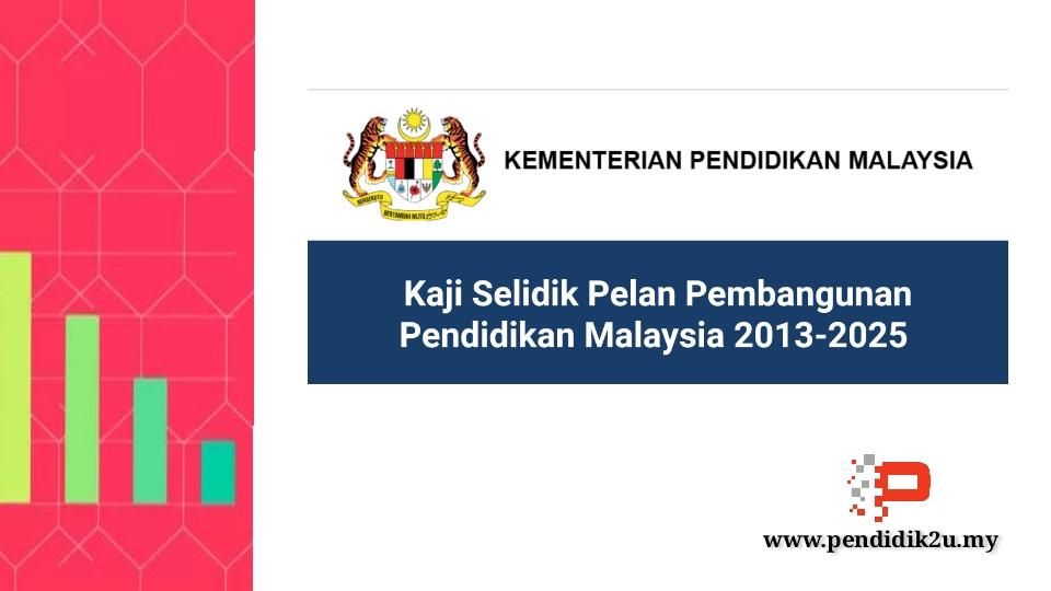 Kaji Selidik Pelan Pembangunan Pendidikan Malaysia