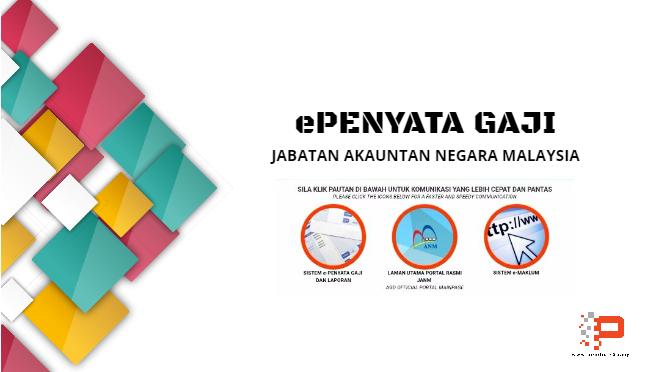 ePenyata Gaji Jabatan Akauntan Negara Malaysia