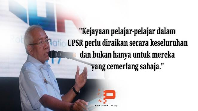 UPSR: Raikan Murid Secara Keseluruhan