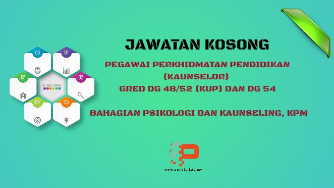 Jawatan Kosong Kaunselor BPsK KPM