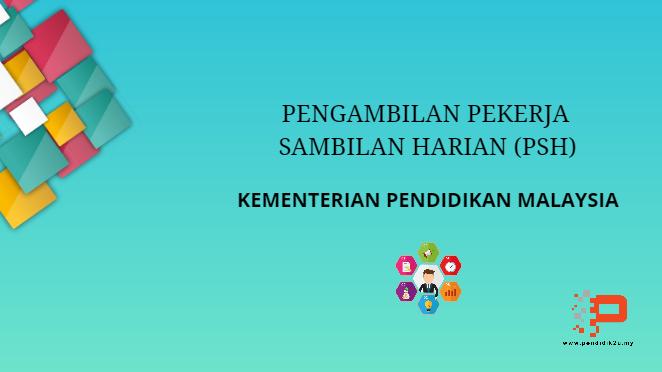 Pengambilan Pekerja Sambilan Harian KPM