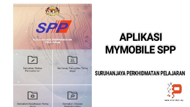 Aplikasi MyMobile SPP