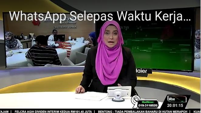 Majikan Tidak Boleh Whatsapp Selepas Waktu Bekerja