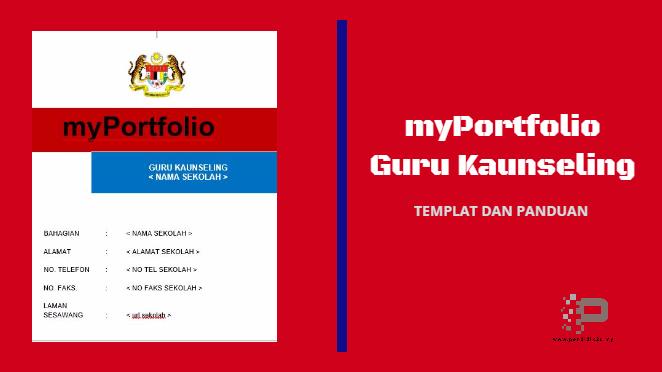 myPortfolio Guru Kaunseling (Template & Panduan)