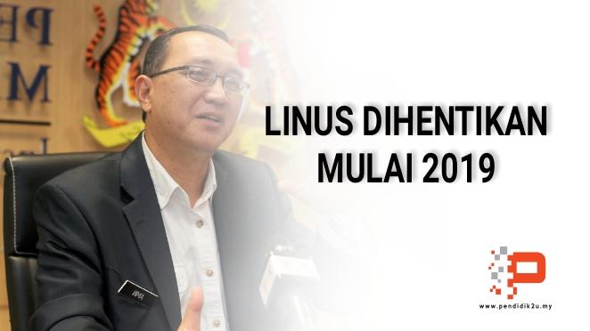 Linus Dihentikan Bermula 2019