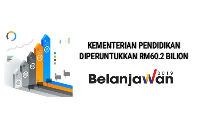 Belanjawan 2019, KPM Diperuntukkan RM60.2 Bilion