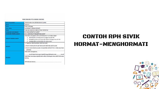 RPH Sivik Hormat-menghormati