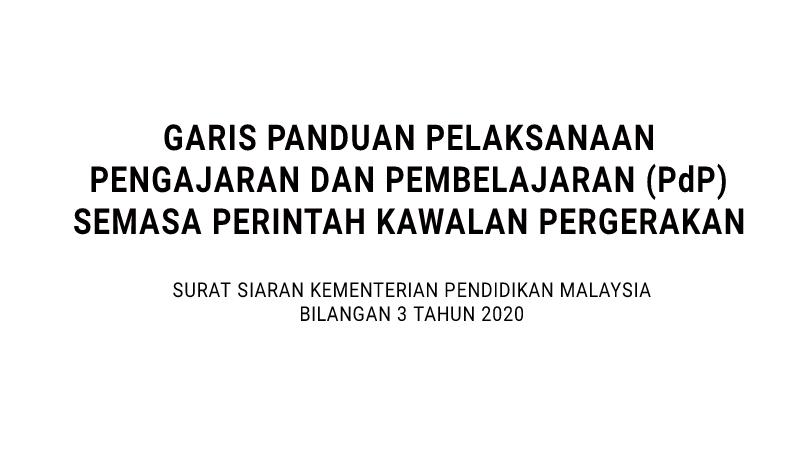 PKP: Tidak perlu buat RPH, hanya catatan ringkas PdP