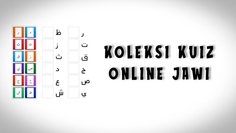 Kuiz Online Jawi Tahun 1