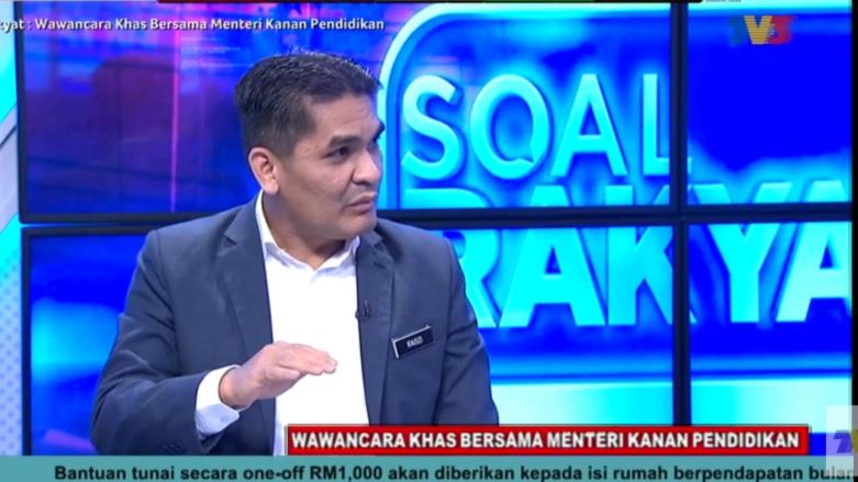 Video Penuh Wawancara Soal Rakyat Bersama Menteri Pendidikan