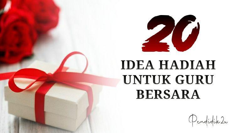 20 Idea Hadiah Untuk Guru Lelaki dan Perempuan Bersara