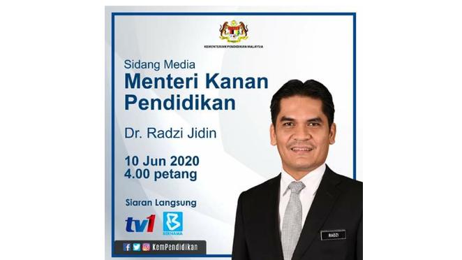 LIVE: Sidang Media Menteri Kanan Pendidikan