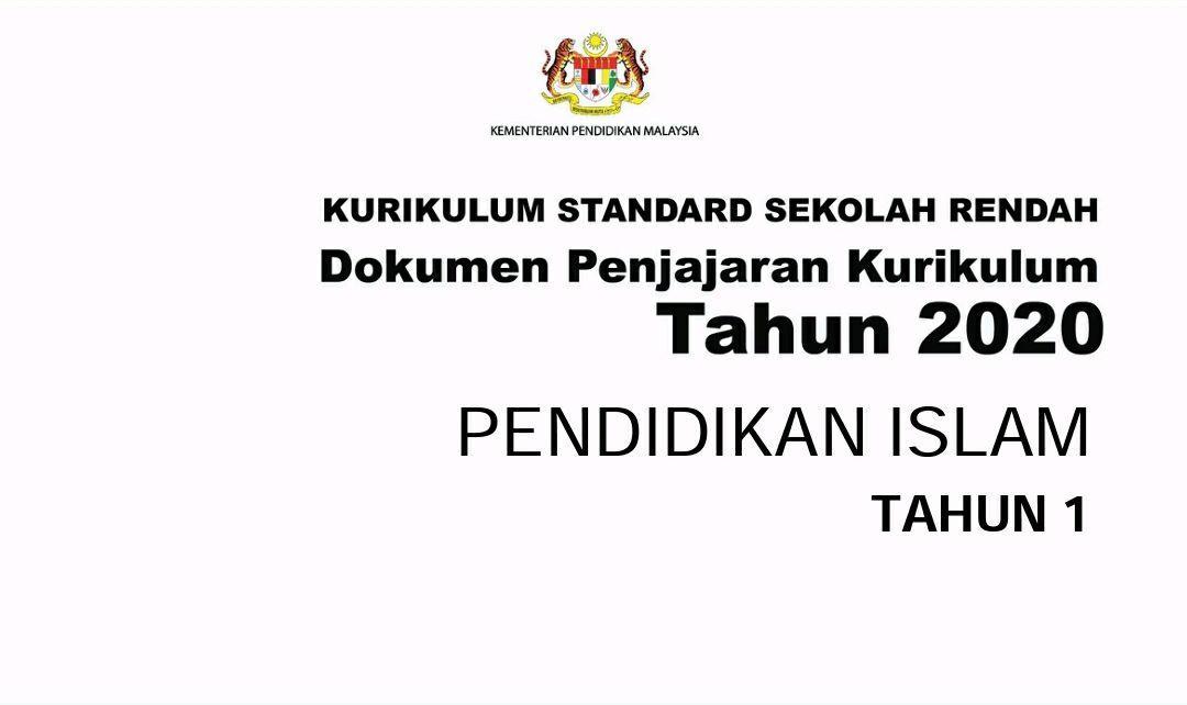Dokumen Penjajaran Kurikulum Pendidikan Islam Tahun 1