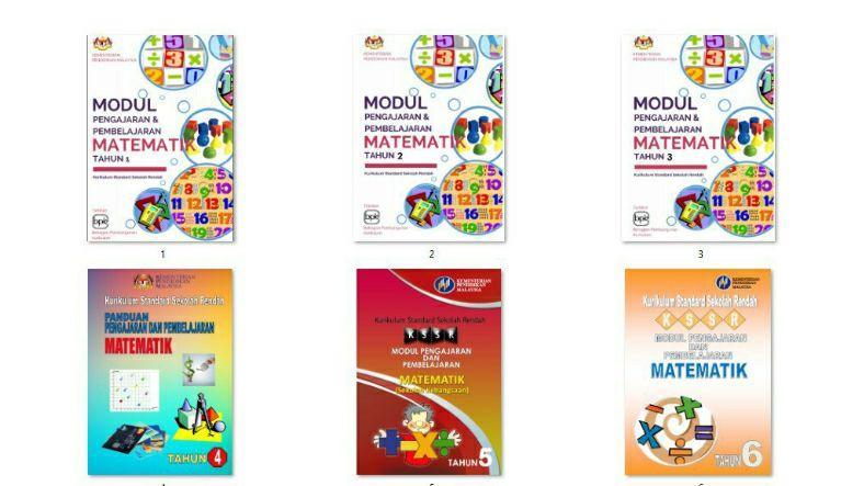 Modul Pengajaran dan Pembelajaran Matematik Tahun 1 hingga 6