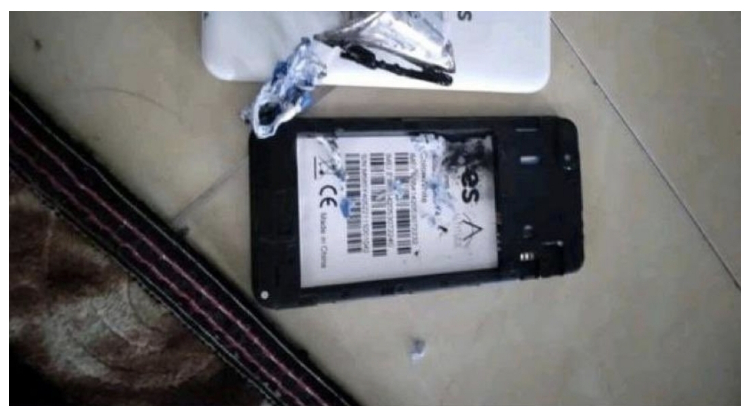Telefon Pintar Terbakar Semasa Sesi PdPr